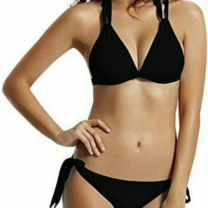 Other - Black Triangle Top Bikini